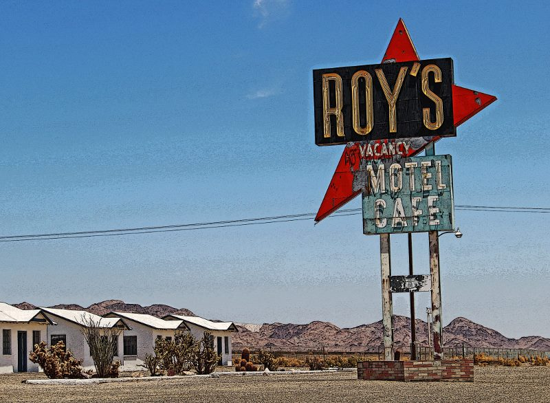 roys diner route 66 california