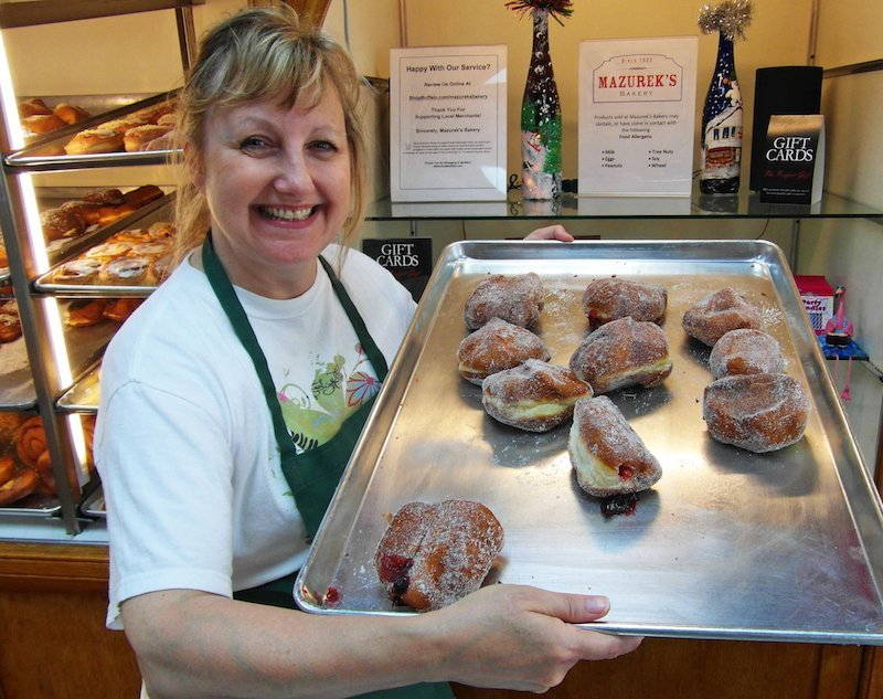 Post image for We make the donuts at Mazurek's Bakery in Buffalo