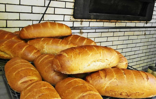 Mazurek's rye bread
