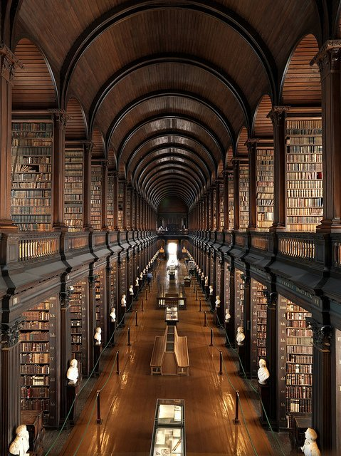 Trinity College Long Room bigger Irish Welcome Tours