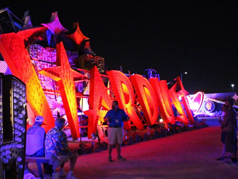 neon museum night tour las vegas