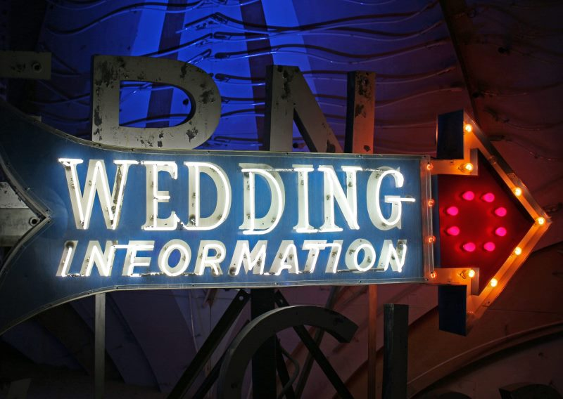 Las Vegas Neon Museum wedding sign (800x568)
