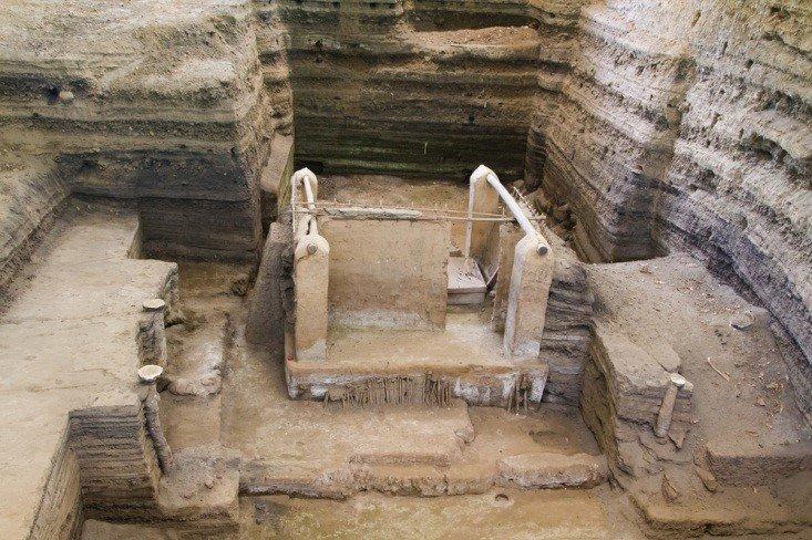 Mayan ruins joya de ceren