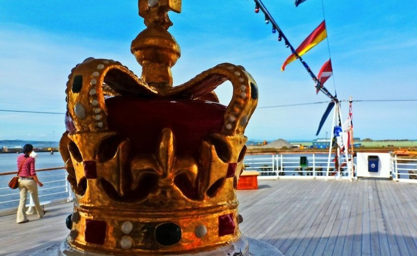 Her Majesty's Yacht Britannia Afterdeck