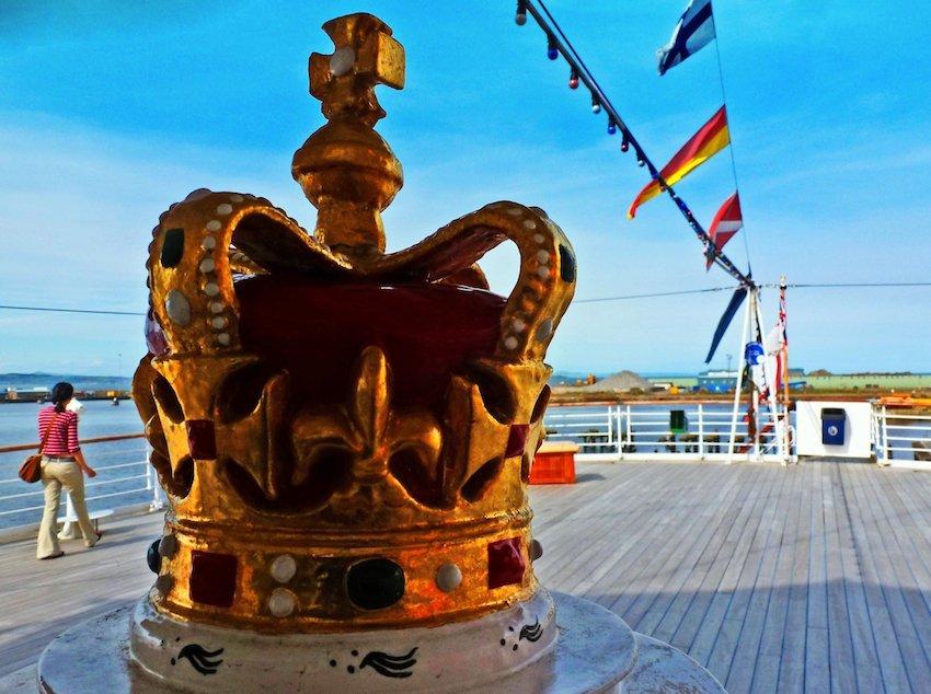 Royal Yacht Britannia Afterdeck