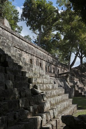 mayan ruins copan honduras