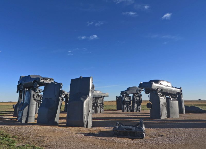 visiting carhenge in nebraska