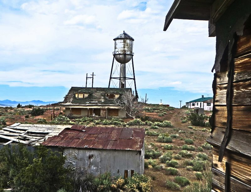 nevada ghost town