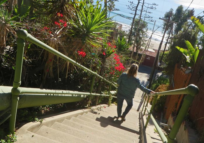 los angeles secret stairs