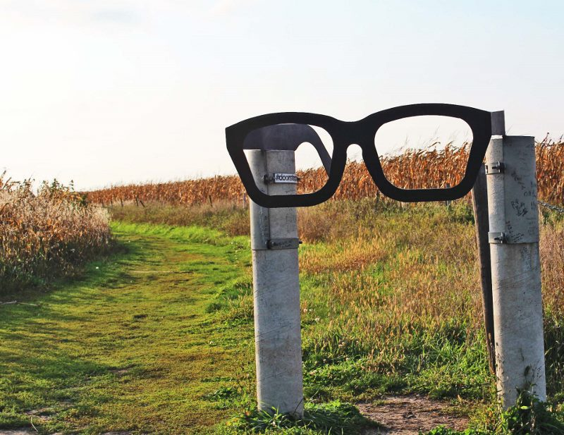 Buddy Holly crash site glasses memorial (800x617)