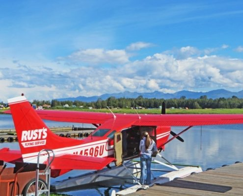 seaplane in alaska
