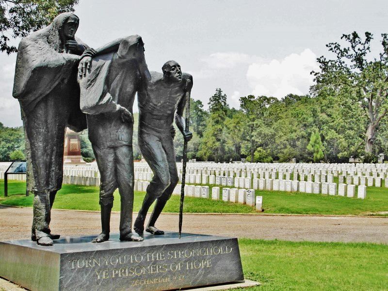 civil war prison andersonville statue