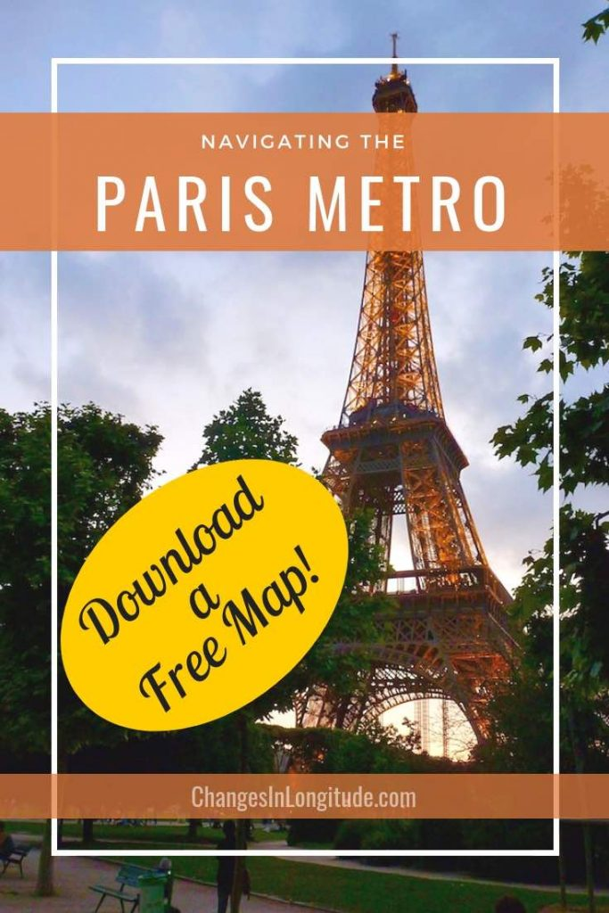 Paris metro map pdf for download