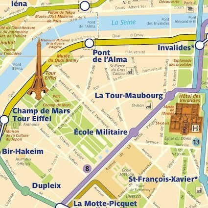 A better Paris Metro map: PDF for download! | Changes in ...