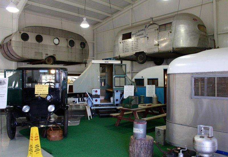 Jack Sisemore RV Museum Texas interior