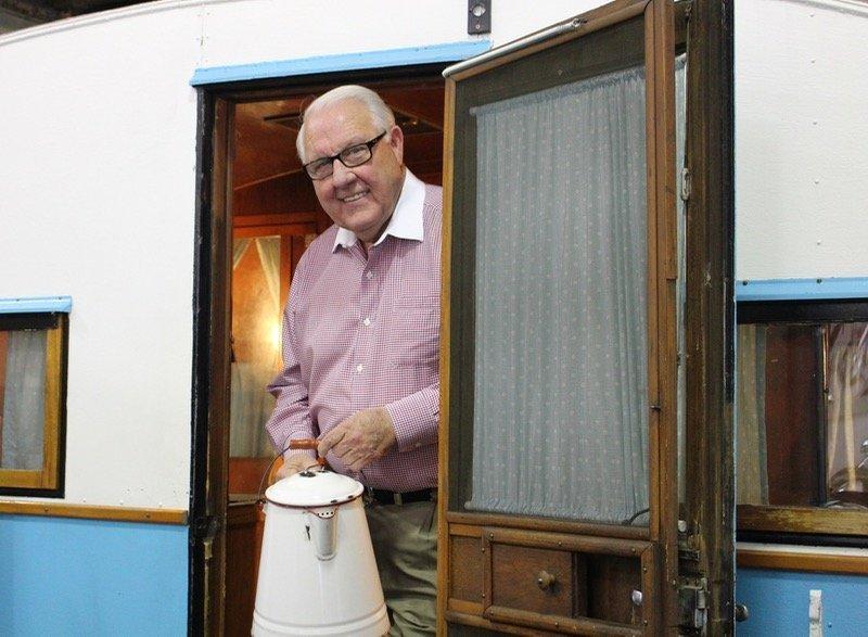Jack Sisemore RV Museum owner