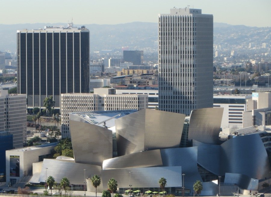 Walt Disney conert hall downtown Los Angeles