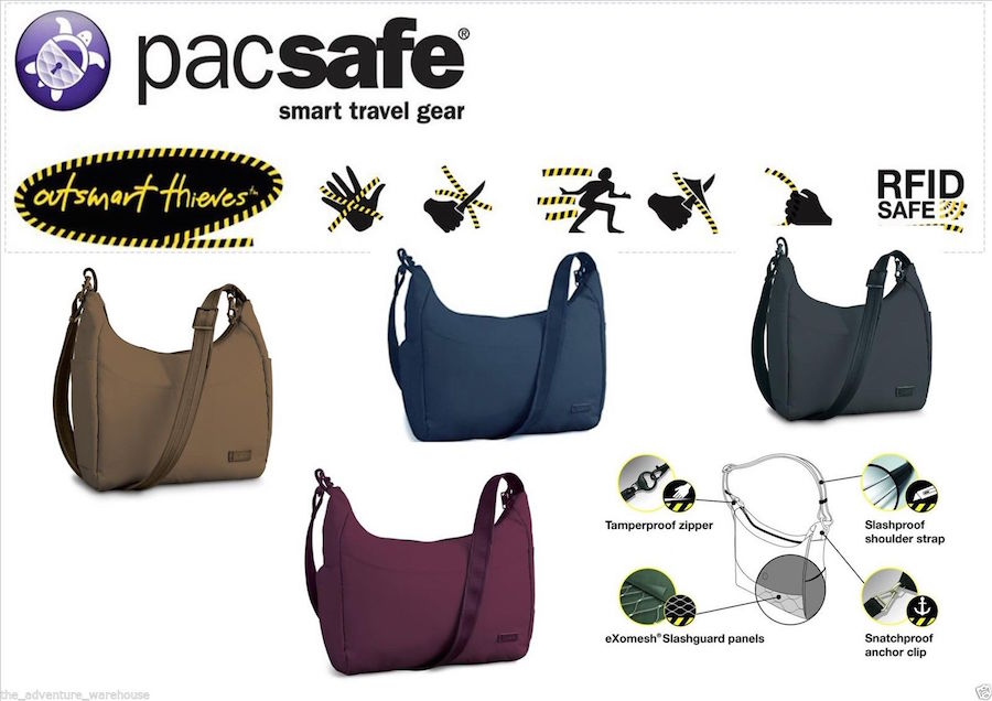 Pascal city bag-Perfect for avoiding pickpockets while traveling