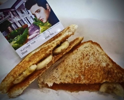 peanut butter & banana sandwich-Elvis
