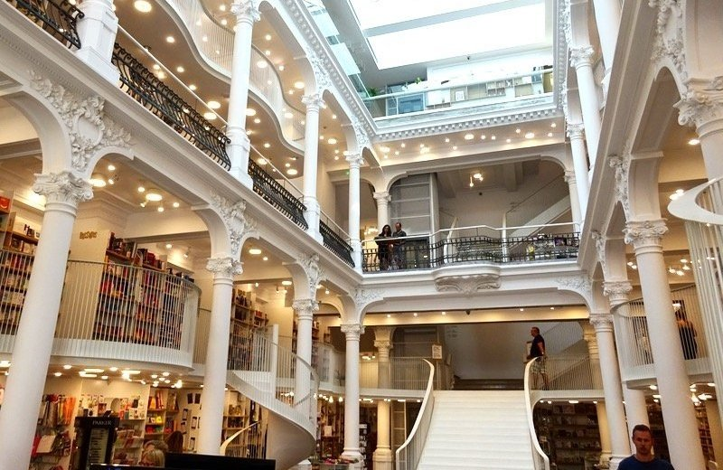 Carousel Bookstore Bucharest