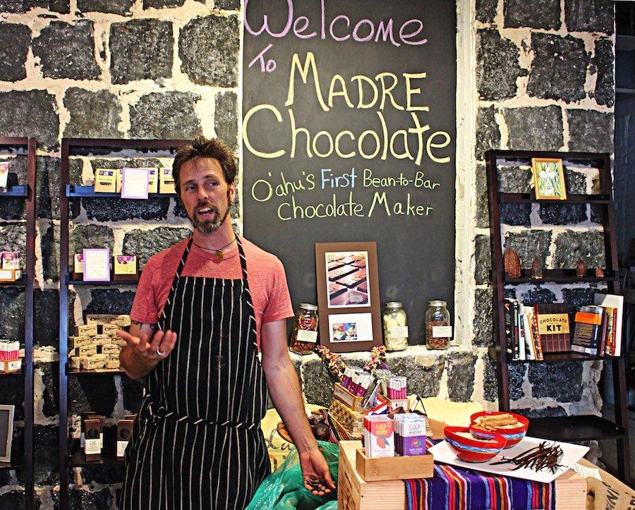 Foodie Hawaii madre chocolate