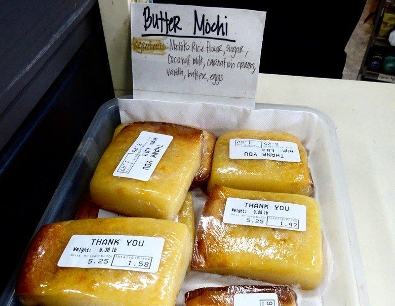 Foods of Hawaii Oahu butter mochi