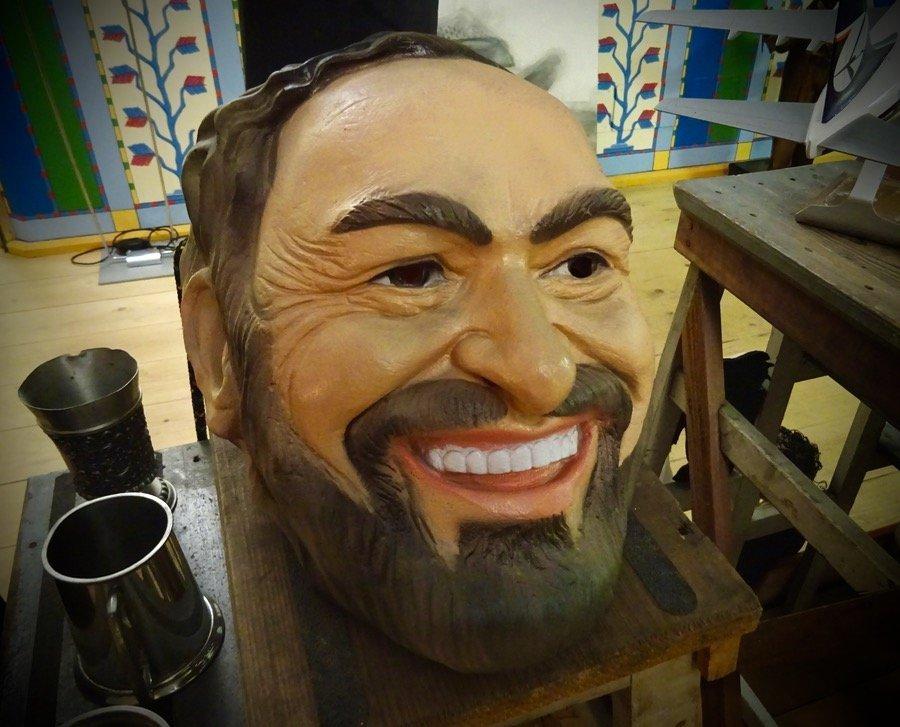 Pavarotti house museum