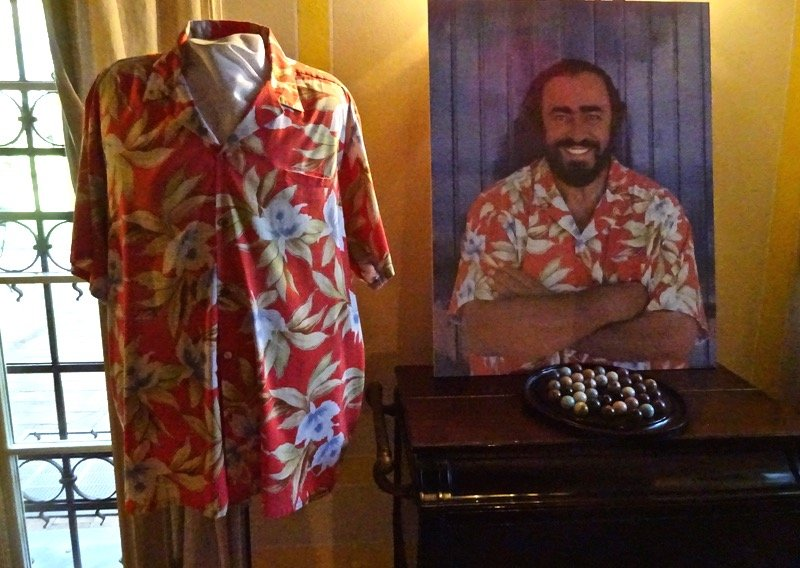 Pavarotti Hawaiian shirt