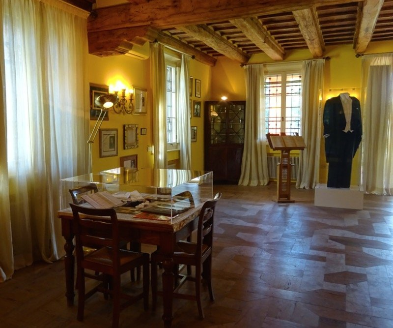 Pavarotti House Museum in Italy