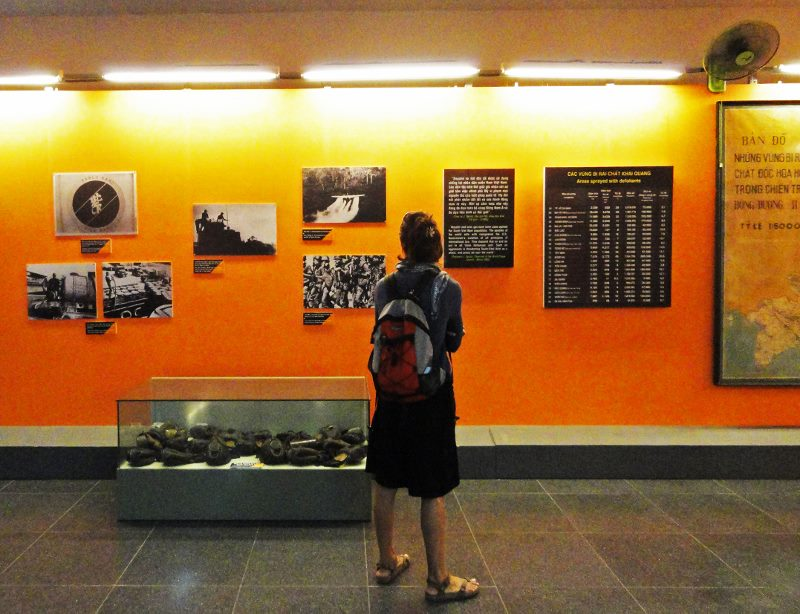 vietnam story war remnants museum agent orange display (800x614)