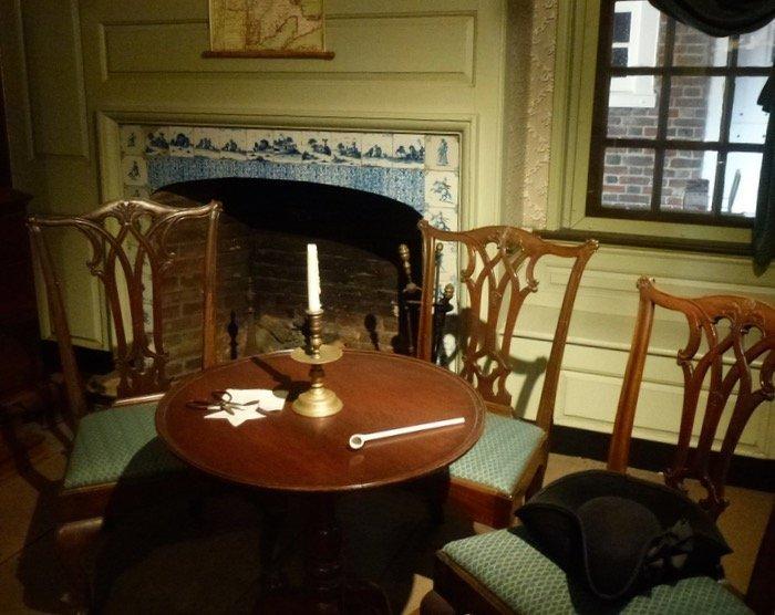 Betsy Ross House Philadelphia interior