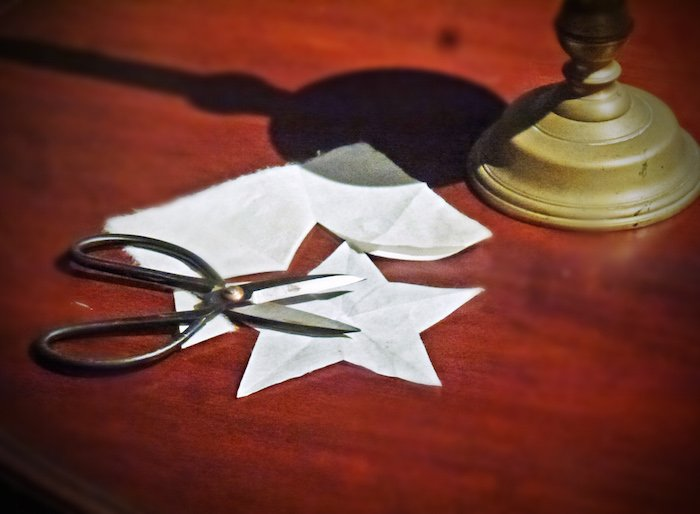 Betsy Ross House Philadelphia star