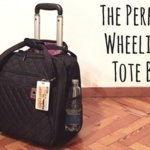 Delsey Quilted Rolling Tote-Changes in Longitude