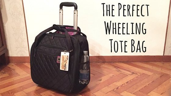 The Perfect Wheeling Tote Bag