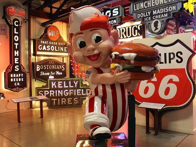 Big Boy vintage sign, American Sign Museum, Cincinnati, OH