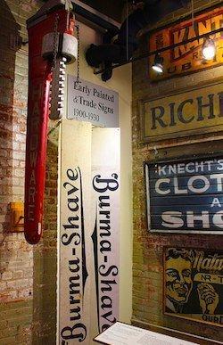 Vintage Burma Shave signs