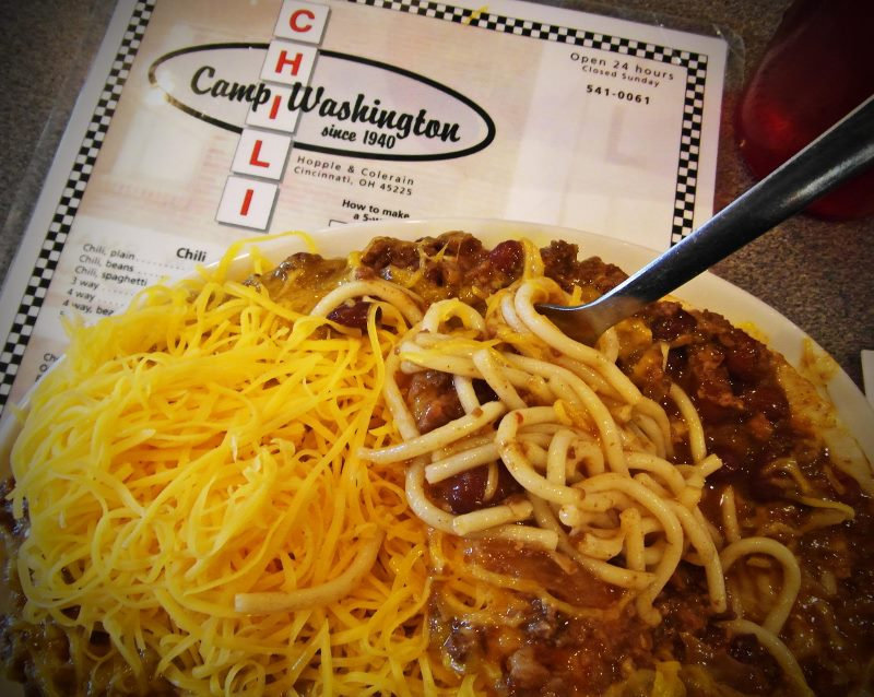 Cincinnati chili Camp Washington