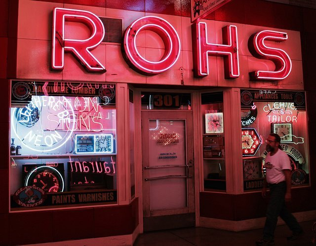 Roh's Hardware Cincinnati storefront