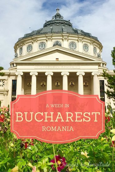 The lovely city of Bucharest, Romania offers plenty to see during a week-long visit