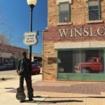 Standing on a corner Park Winslow Arizona