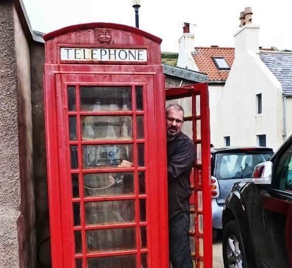 Local Hero phone booth Scotland