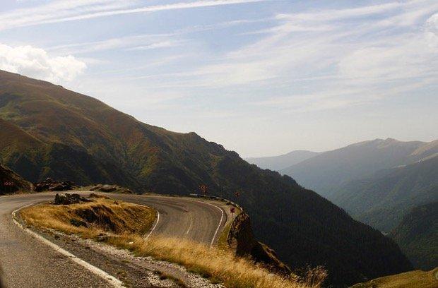 Transfagarasan Highway curve