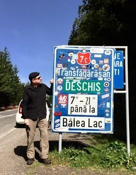 Transfagarasan Highway sign