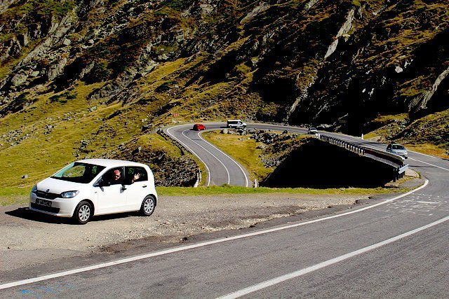 drive on the Transfagarasan Highway