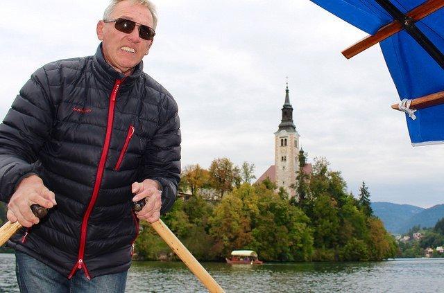 Visiting Slovenia Lake Bled pletna