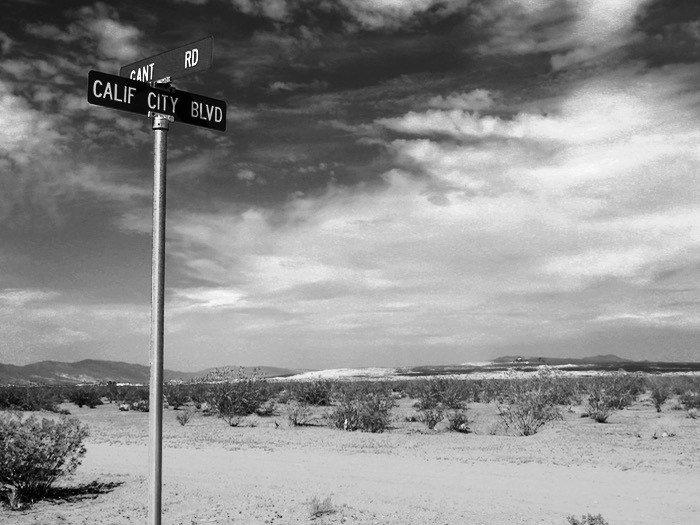 California City street sign