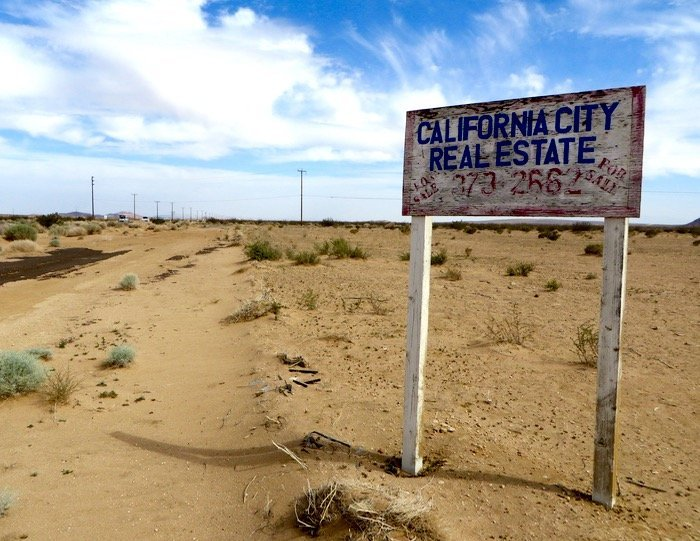 California City ghost town