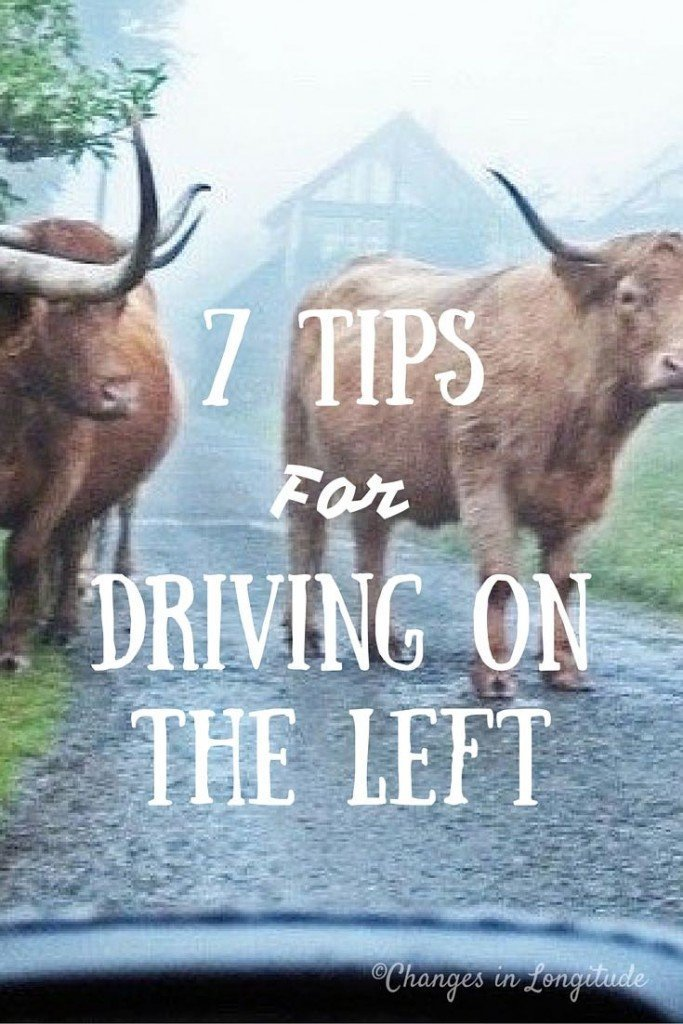 Seven tips for driving on the left