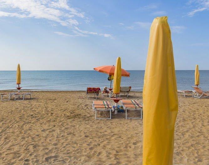 Bibione beach in Italy