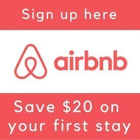 Sign up with Airbnb and get a $20 credit on your first stay